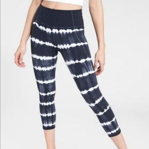 Athleta Tie Dye Salutation Leggings
